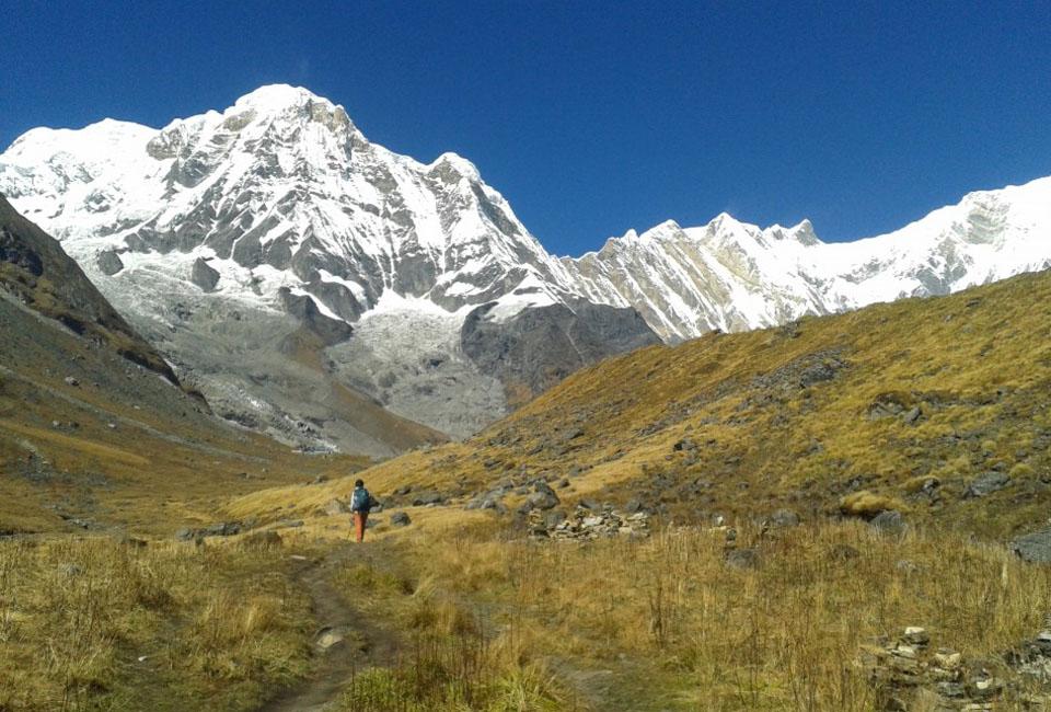 Hiking in Nepal