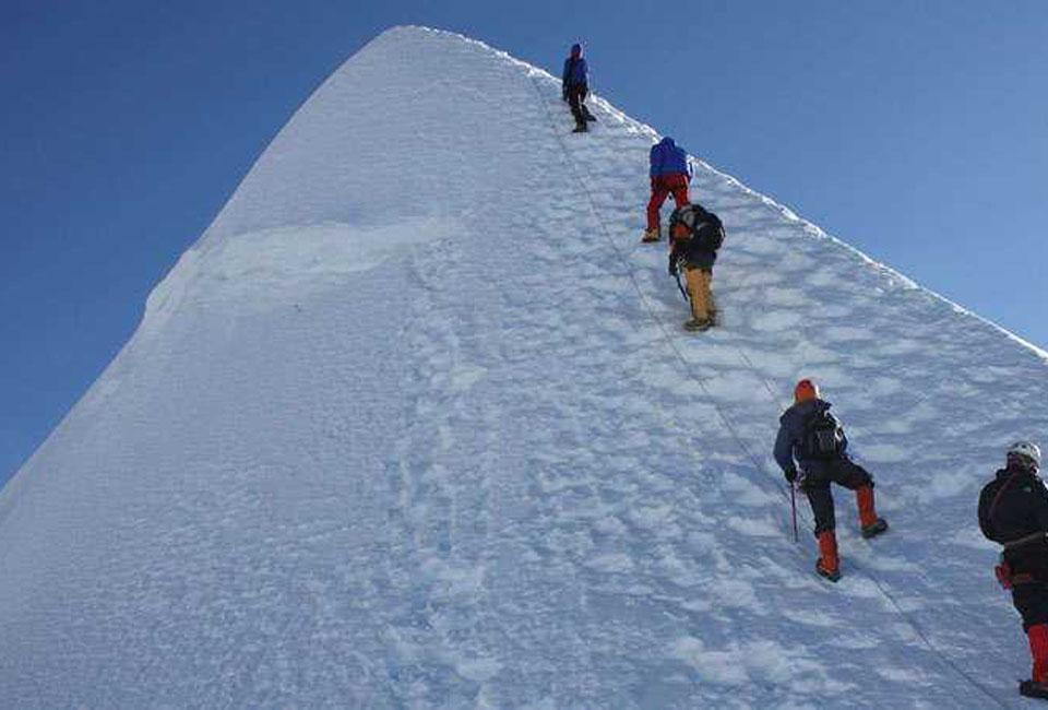 MOUNTIAN CLIMBING